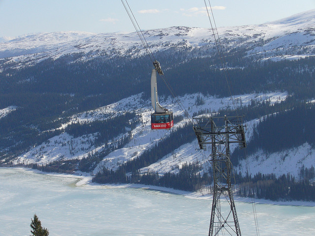 It's the longest ski lift in Åre, Sweden