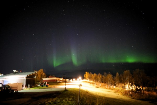 Aurora Borealis in Sweden Time.Captured./Flickr