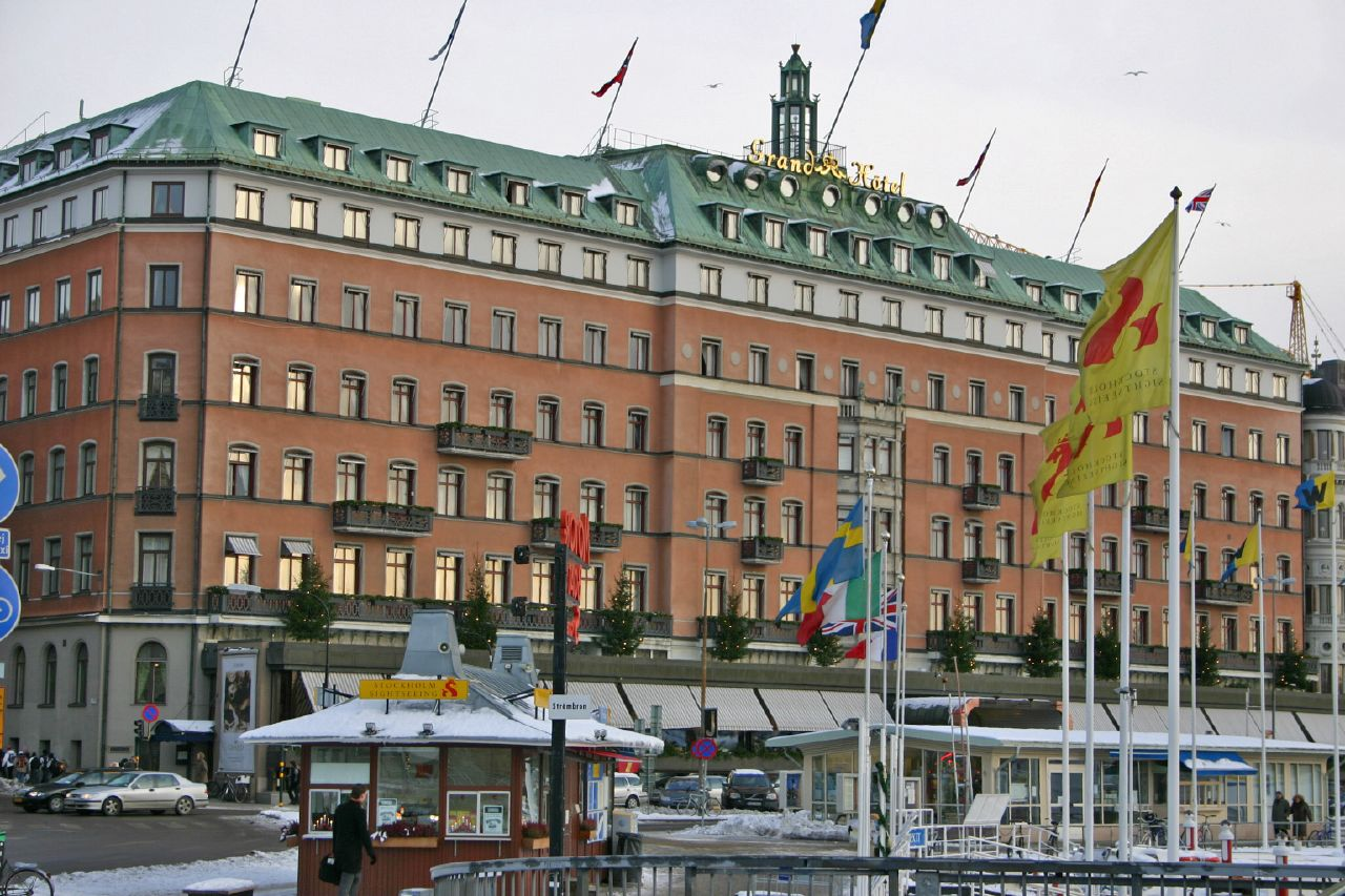 Top 5 luxury hotels in sweden sweden travel guides for Grand hotel