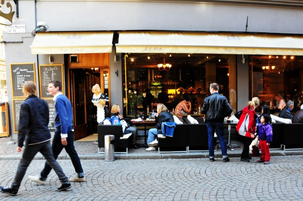 Restaurants and coffees in Gamla Stan Jess Pac/Flickr